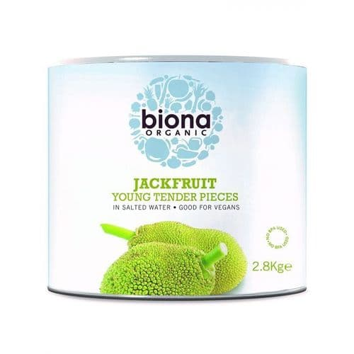 BIONA Organic Young Jackfruit in Salted Water 2.8kg